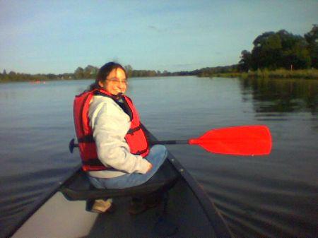 e in canoe